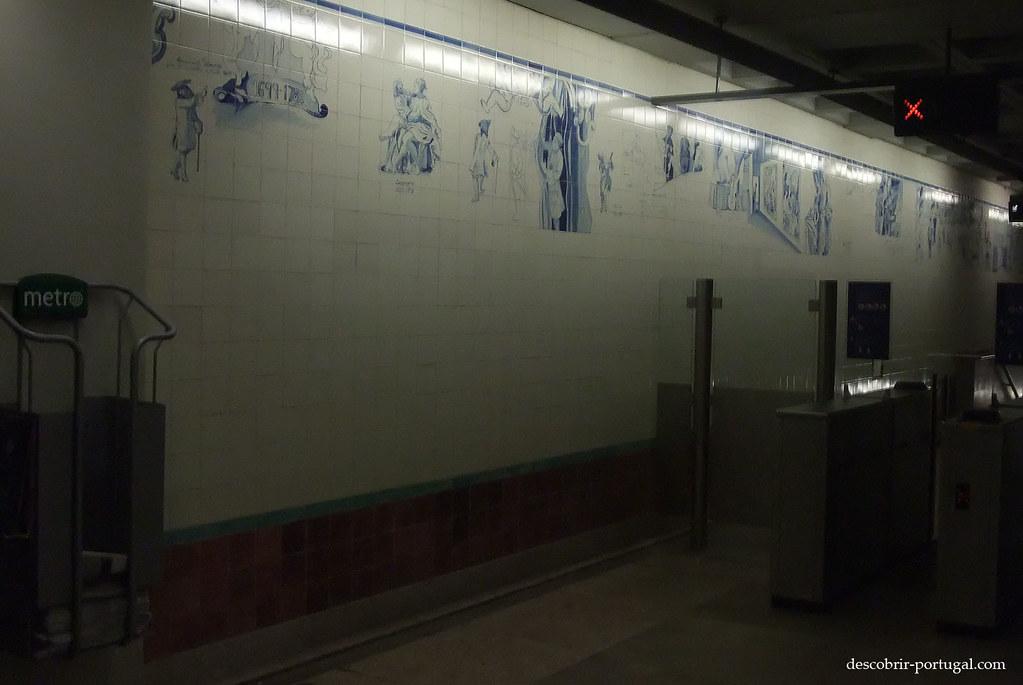 Décoration en azulejos