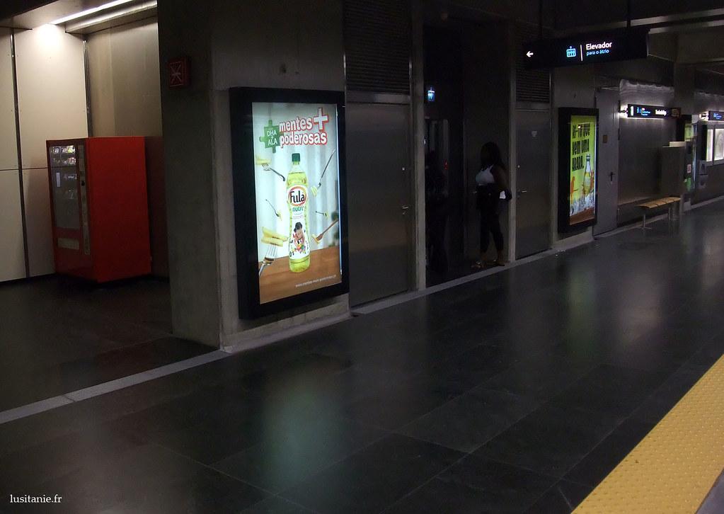 Quai du métro