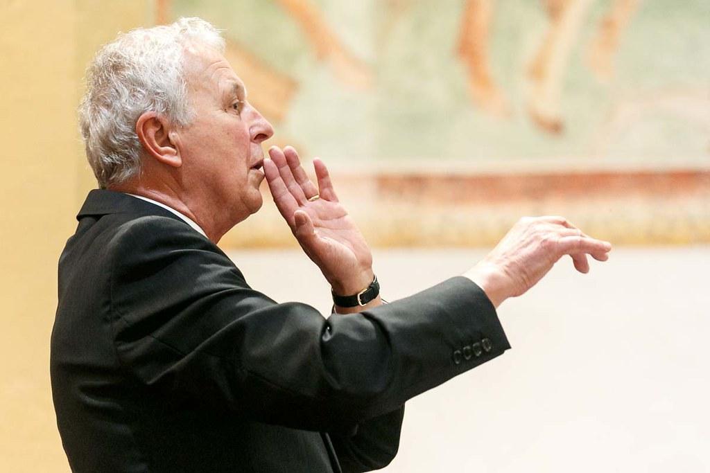 Koncert ob 70 letnici dirigenta Karla Leskovca