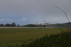 Landing - VH-VNP Virgin Australia A320-231 - Christmas Island