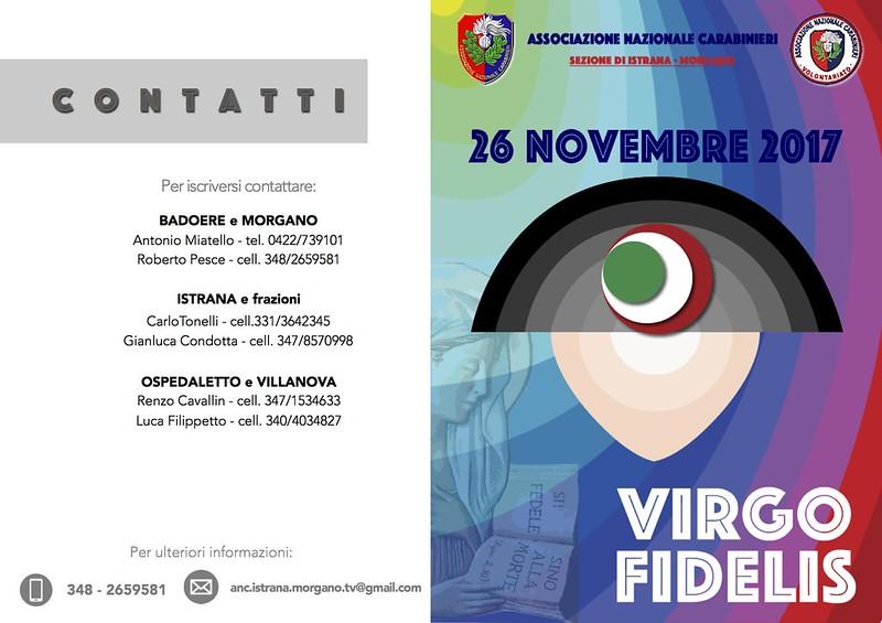 Invito Virgo Fidelis 2017