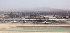 Departing Aeropuerto Internacional Jorge Chávez, Lima, Peru