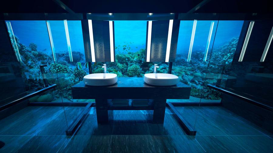 pour vous 50 000 dollars par nuit jusqu neuf personnes peuvent s journer dans cette suite. Black Bedroom Furniture Sets. Home Design Ideas