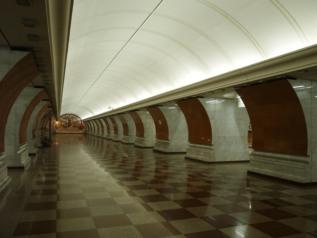 Панорама метро москвы