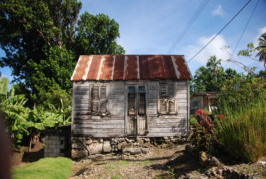 An Ancient Barbados Chattel House According To Our