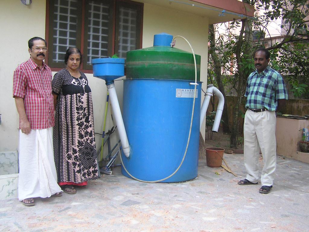 Biotech 2007 Ashden Award Winner Portable Biogas Plant
