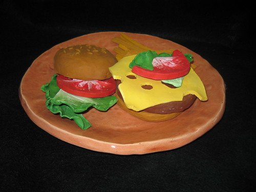 Ceramic food sculpture darien public schools art for 3d cuisine boe