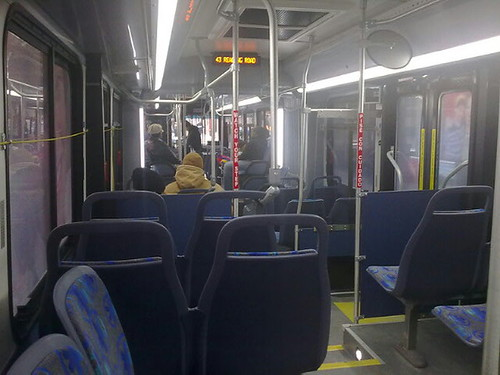 cincinnati metro bus 9036 interior