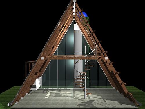 Casa ecol gica prefabricada img 35 i igo ortiz - Casa prefabricada ecologica ...