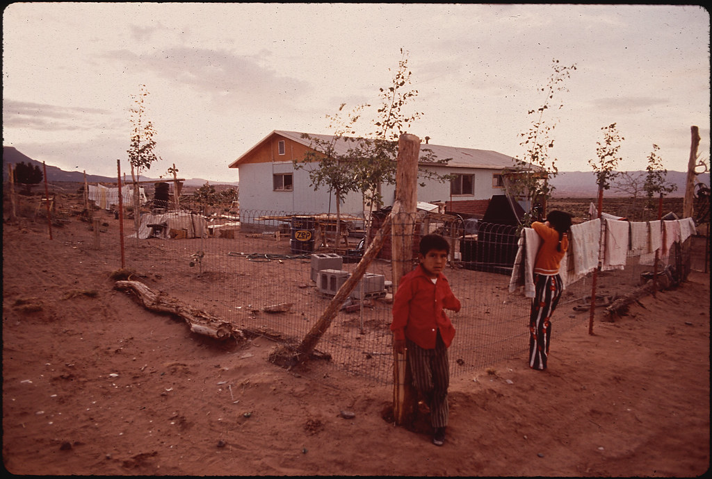 New Navajo Community, Built By Navajo Pine Industry  Flickr-8891