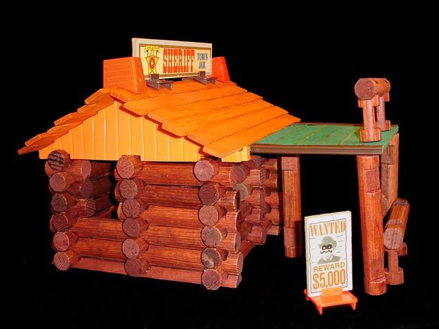 Mid 1970 S Lincoln Logs Cabin Playskool Original Lincoln L Flickr