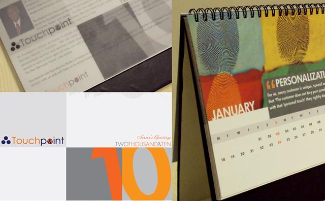 Calendar Design Concept : Touchpoint calendar concept design ali memon