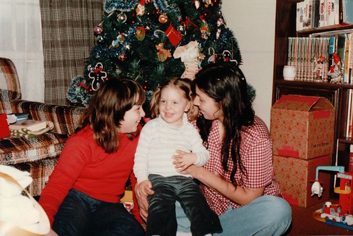 Maurya, Mom, and Becke - Christmas 1982 | by beckeboyer