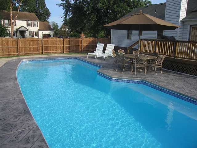 Poseidon 13e viking pools custom design the pool for Pool design virginia