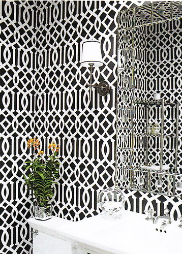 Black and White Wallpaper | by Jessie {Creating Happy}