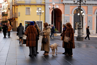 Italian Women in Furs | by goingslowly
