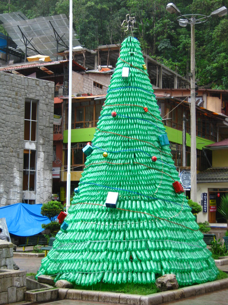 White Plastic Christmas Tree