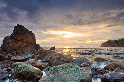 Green Rocks Sunset - John Muir Beach California | by Darvin Atkeson