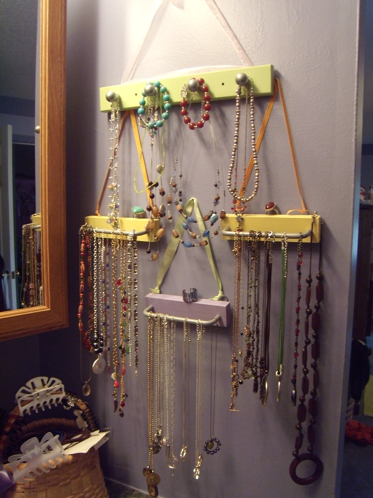 Diy jewelry holder project mama lang flickr - Clever diy ways keep jewelry organized ...