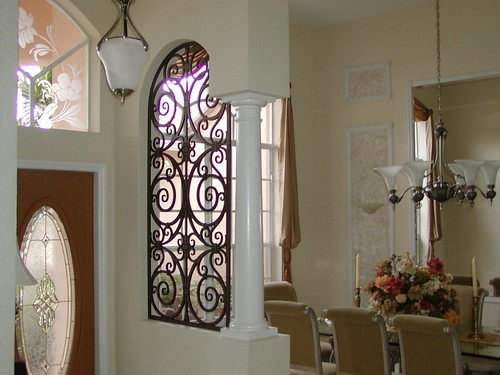 Decorative Iron Arched Room Divider The Look Flickr