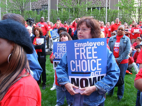 EFCA at VZ rally | by CWA Union