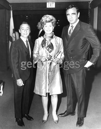 Mr And Mrs Eddie Arcaro United States Circa 1970