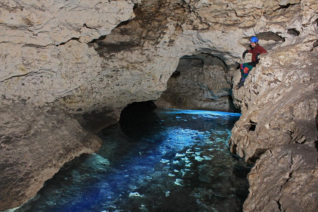 Ocala Caverns Entrance Room Marion County Florida Bren