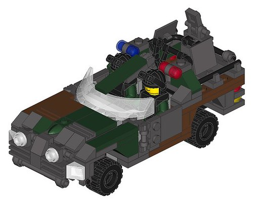 Wip Aleks M3 Panther Fast Assault Jeep Instructions M Flickr