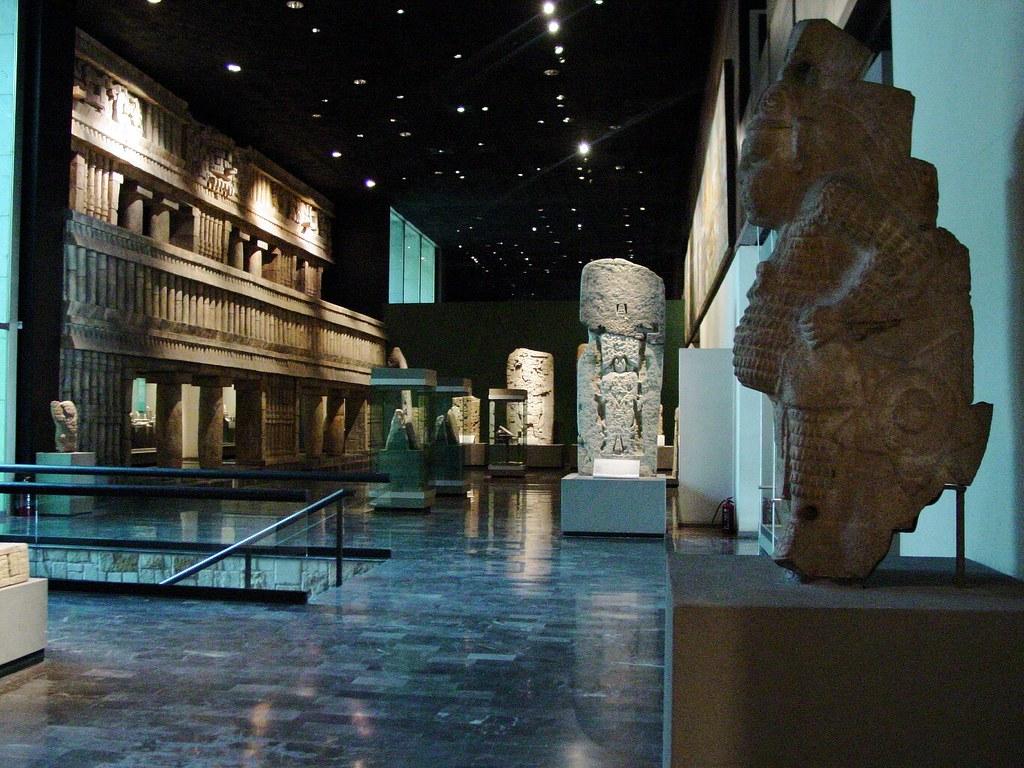 vista sobre una de las salas del museo nacional de antropo u2026