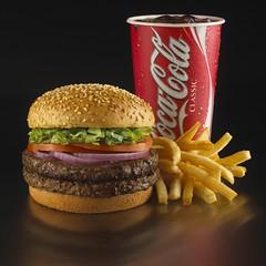 Half lb Burger Combo