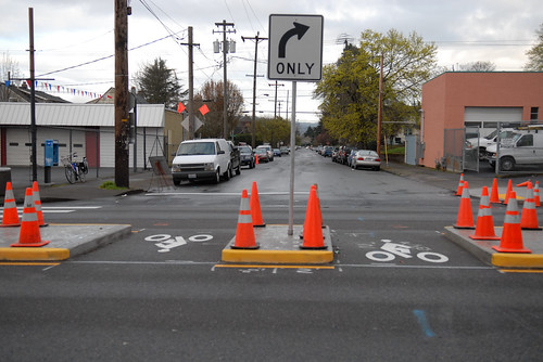 Going bike boulevard at MLK Jr. Blvd-4 | by BikePortland.org