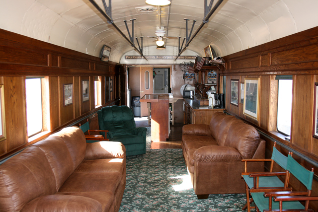 private rail cars pony express interior private rail car flickr. Black Bedroom Furniture Sets. Home Design Ideas