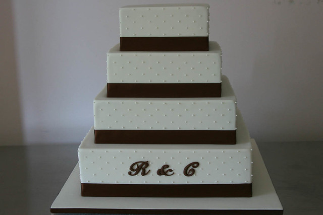 square tiered wedding cake sizes r amp c weddding 4 tier square wedding cake sizes 6 quot 8 20376