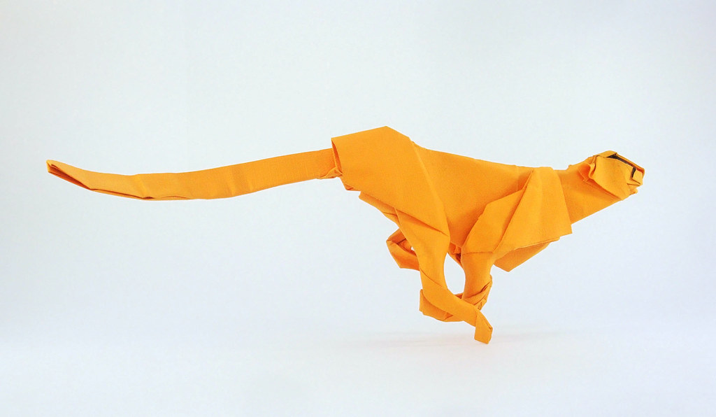 How To Make A Cheetah Origami WonderHowTo