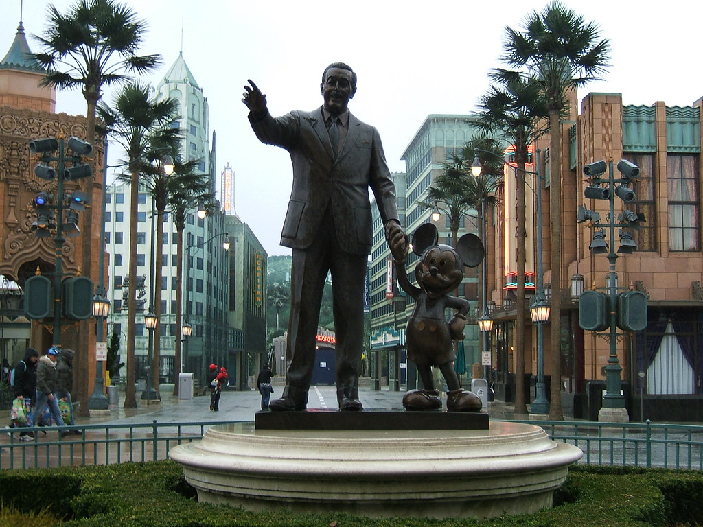 Walt Disney And Mickey Mouse Walt Disney And Mickey Mouse Flickr