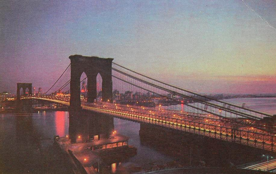 1960s BROOKLYN BRIDGE ...