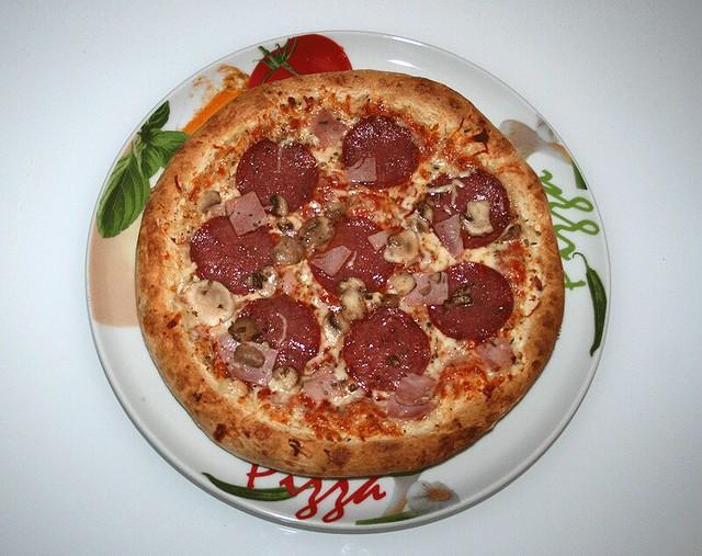 07 dr oetker die ofenfrische pizza speciale fertig. Black Bedroom Furniture Sets. Home Design Ideas
