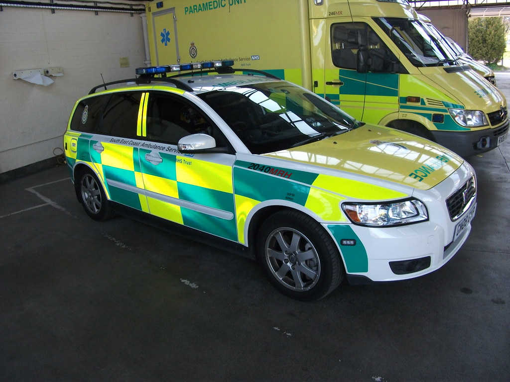 GN08GYP / MRH2040 South East Coast Ambulance Service Volvo… | Flickr