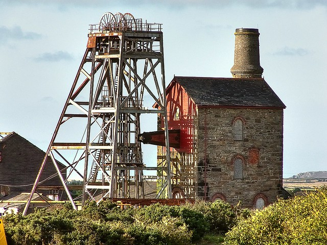 Cornwall 39 s metal mines robinson shaft camborne at for Gardening jobs cornwall