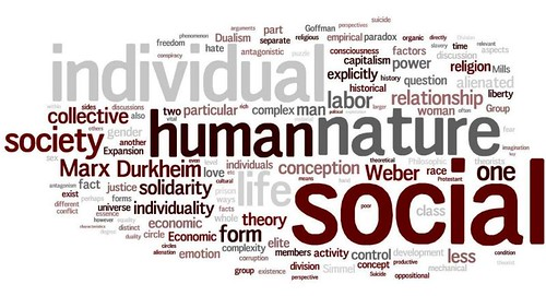 the breakdown of the study of sociology Sociology is the scientific study of society, patterns of social relationships, social  interaction,  able to determine whether any given society is 'healthy' or ' pathological', and seek social reform to negate organic breakdown or social  anomie.