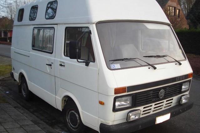 VW LT 28 camper van | Dimi | Flickr