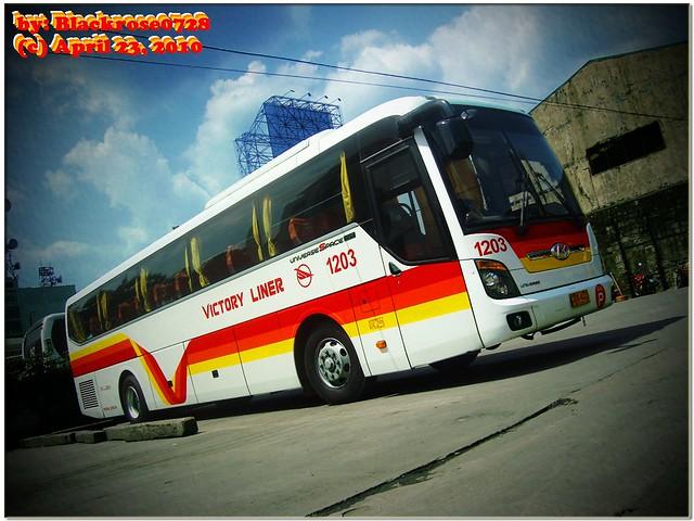 Victory Liner Inc Hyundai Universe Space Luxury 1203