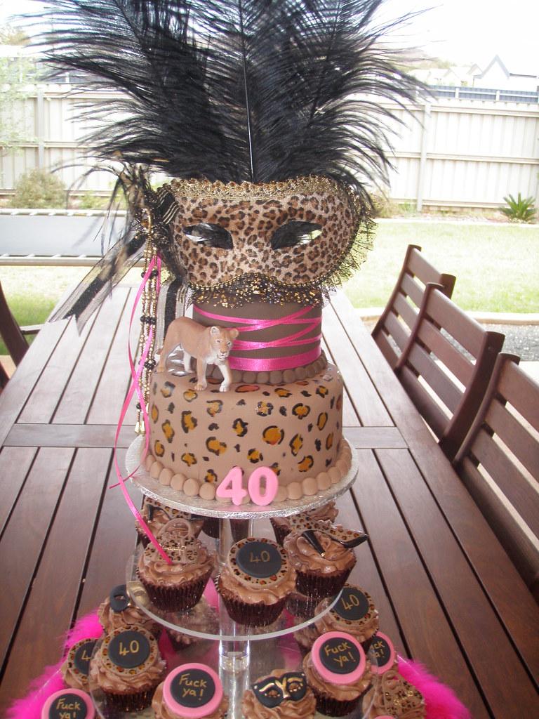 Image Result For Masquerade Birthday Cake