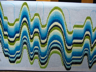 Bargello-wip...which way is up? | by elsy965