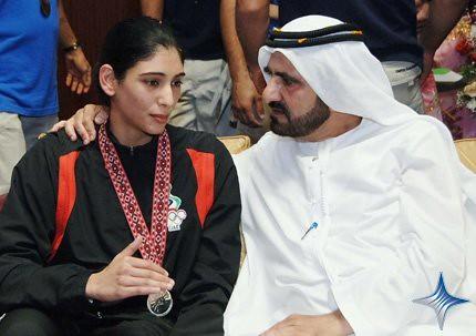 Khalifa Bin Zayed Al Nahyan House Sheikha Maitha bint mo...