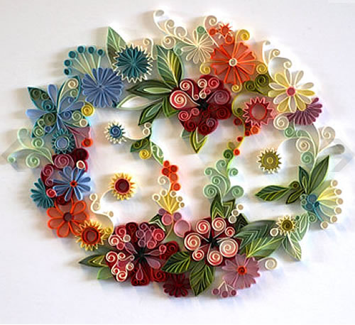 Papercraft flower wreath barry lee remmen flickr papercraft flower wreath by angryartisan papercraft flower wreath by angryartisan mightylinksfo