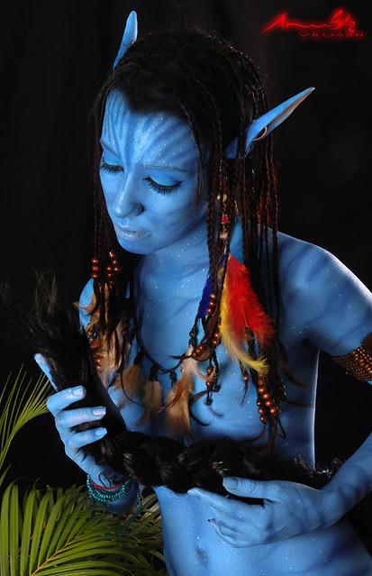 Avatar Body Paint Porn