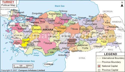 Turkey map turkey map mapsofworldturkey shows th flickr turkey map by mishra manoj publicscrutiny Choice Image