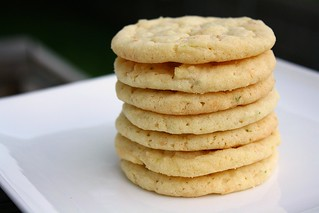 Chewy Lime Sugar Cookies | by Tracey's Culinary Adventures