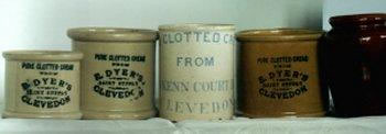 Dyer's clotted cream pots | by Clevedon Civic Society